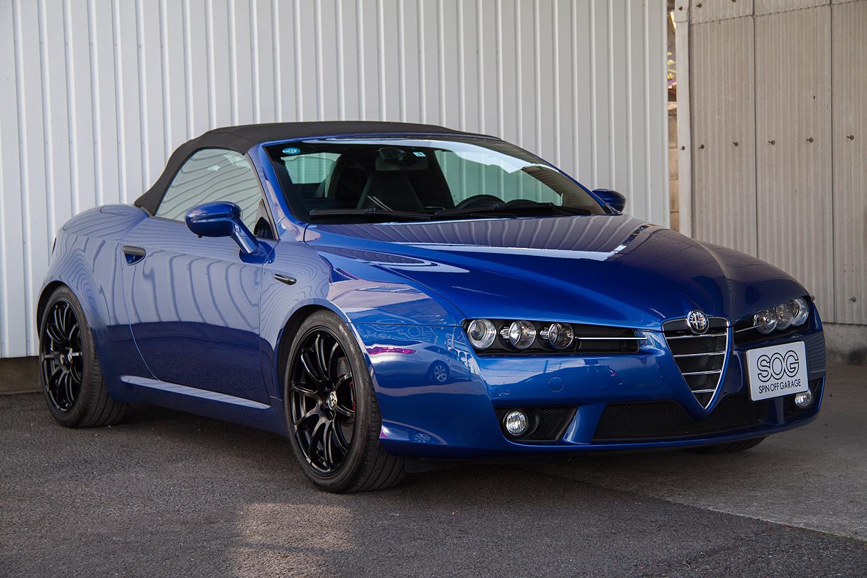 Alfa Romeo スパイダー 2.2JTS ディスティングティブ