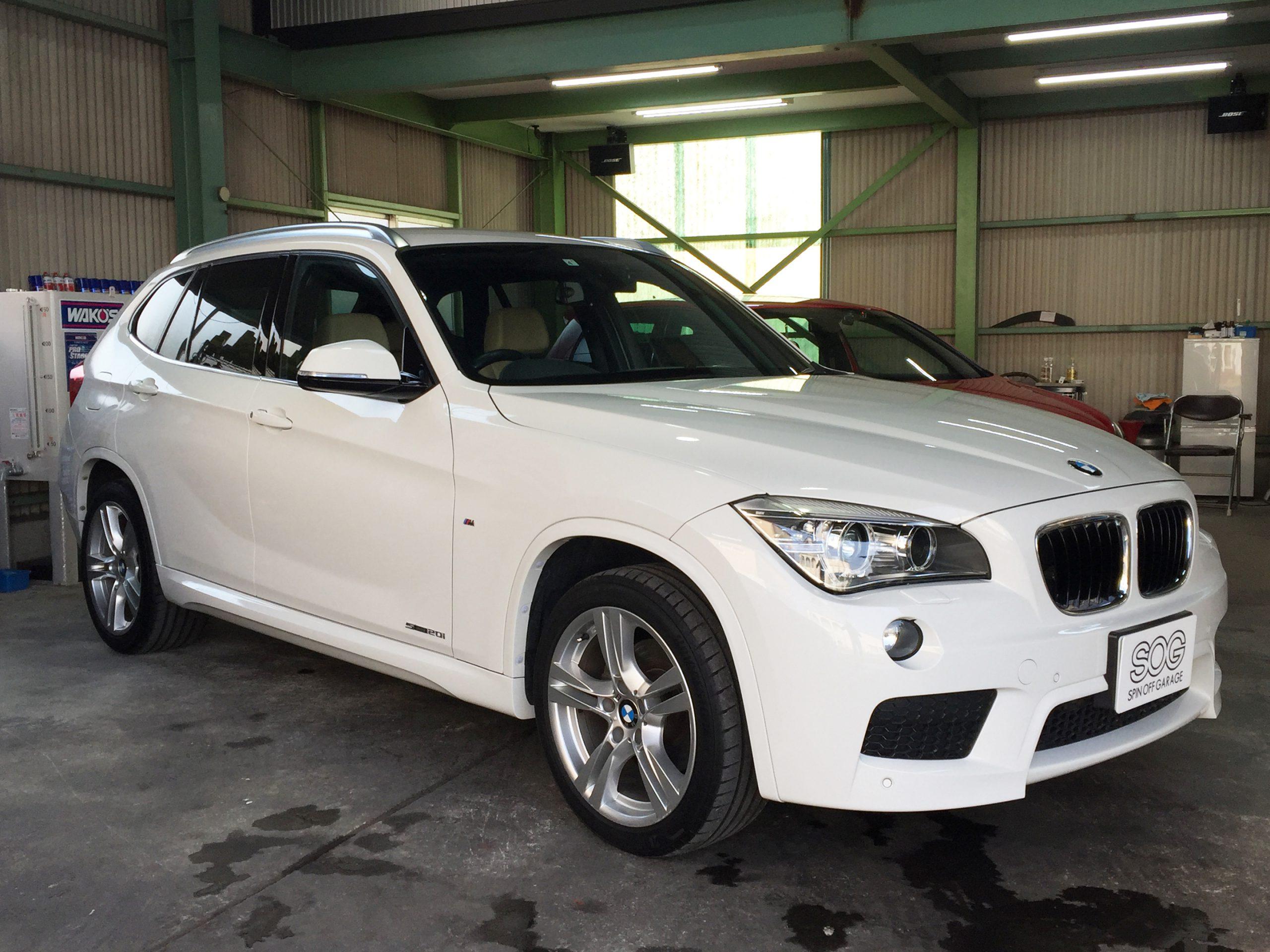 【BMW X1 Sドライブ】ご依頼ありがとうございます!