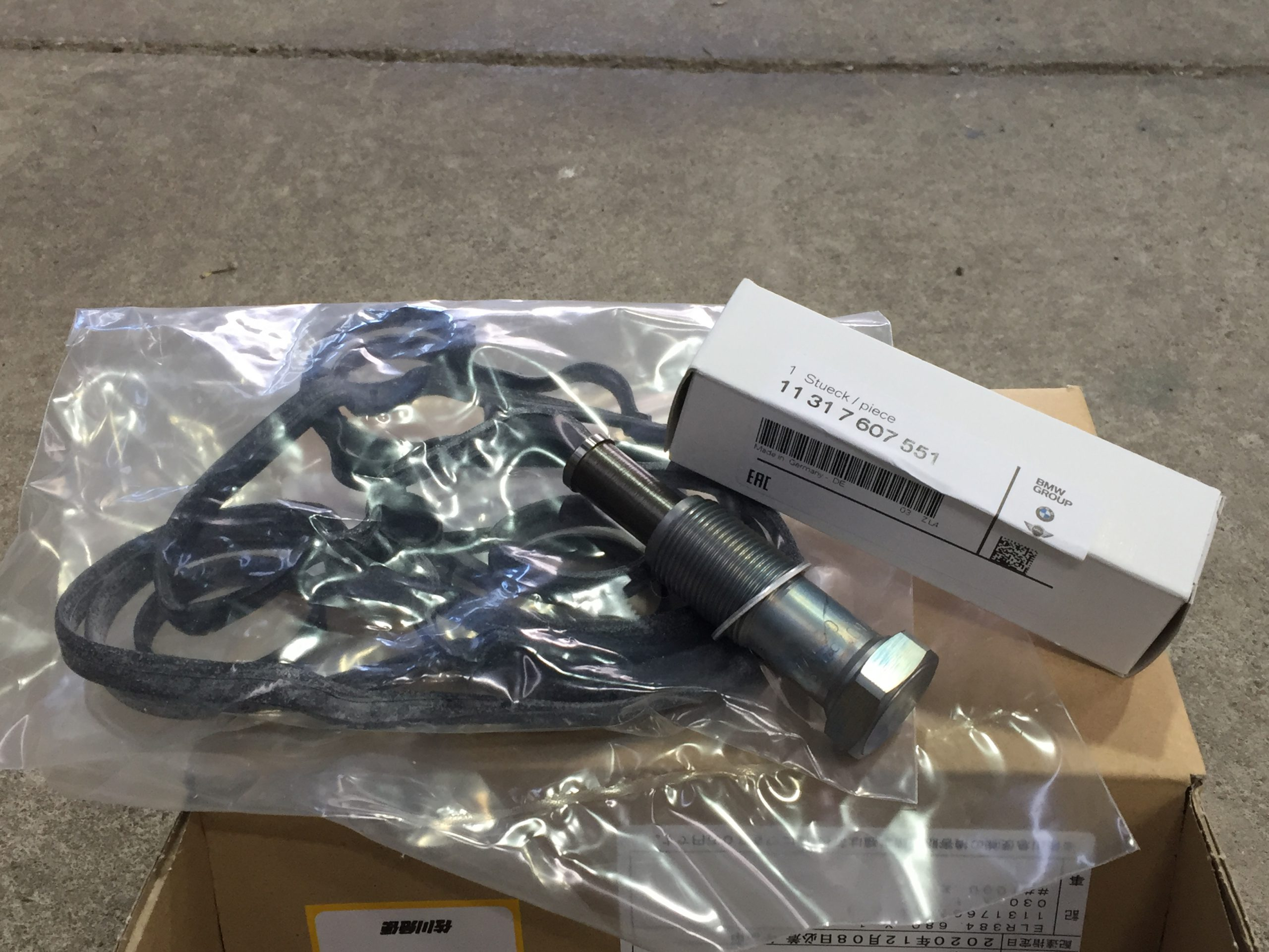 MINI R56 テンショナー交換