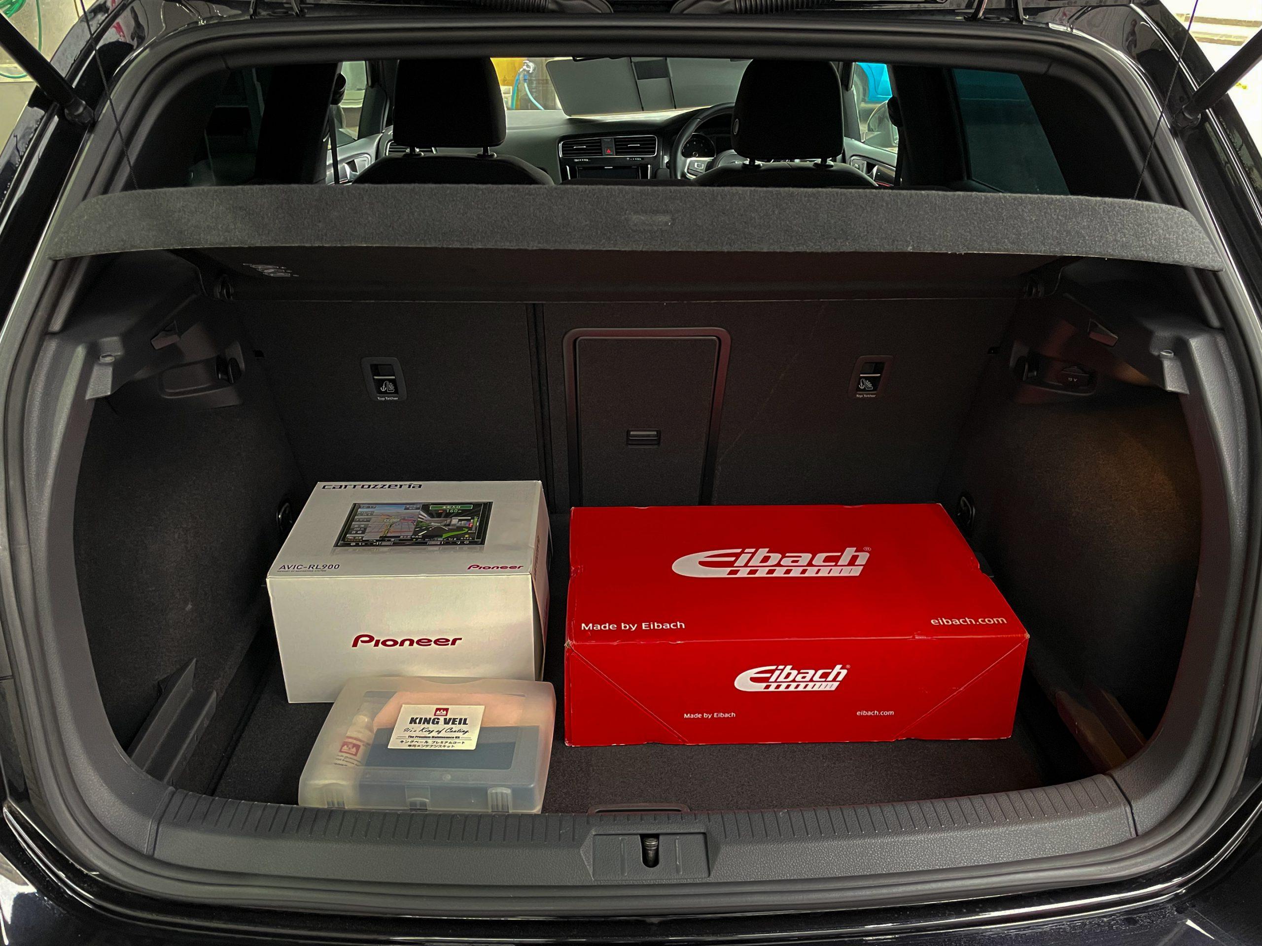 VW Golf TSI 2.0 GTi Base grade custom